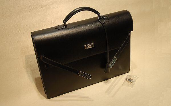 new products 29798 43a8d 質屋 長谷川質店 エルメス ケリーデペッシュ 38 No.1018